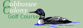 Cobbossee Colony Golf Course Logo